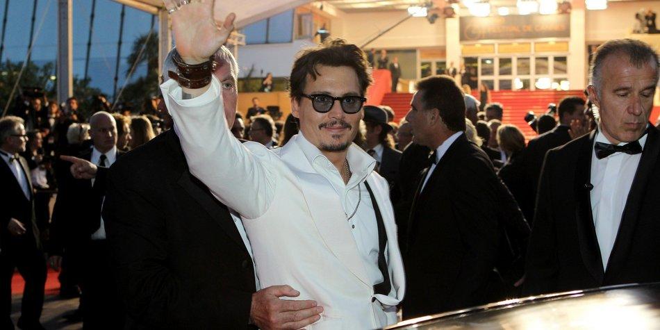 Johnny Depp: Die Queen ist seine Cousine!