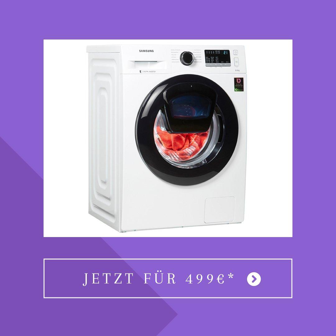 Samsung Waschmaschine AddWash WW4500 WW8EK44205W/EG AddWash