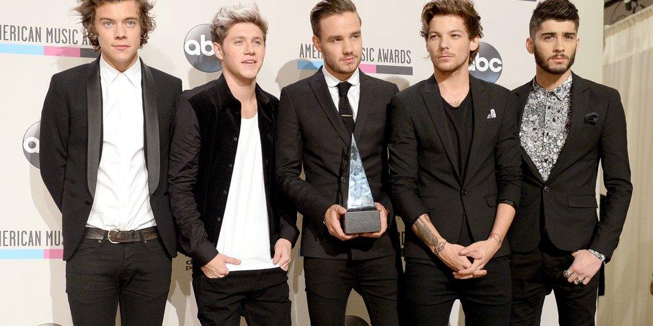 One Direction: Die Jungs überzeugen selbst Chris Martin