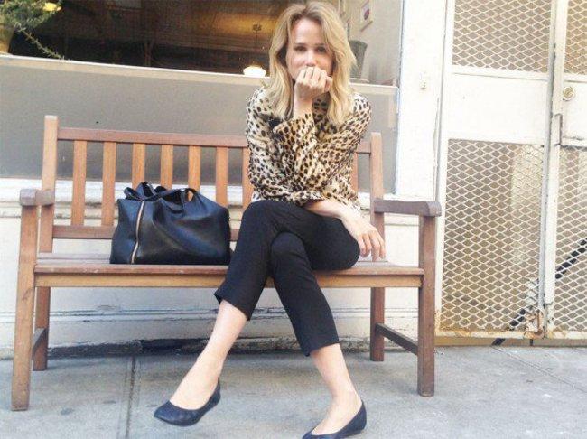 Elin Kling im Leo-Look in New York