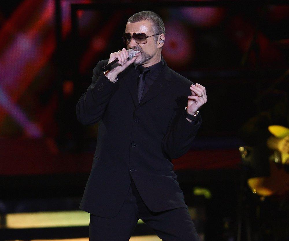 George Michael auf der Bühne
