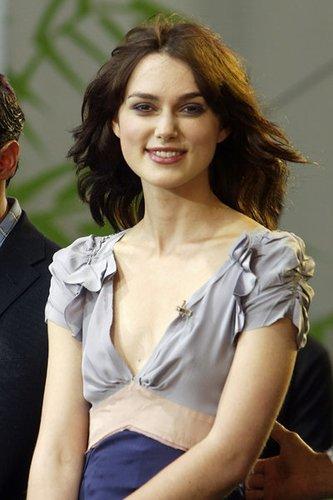 Keira Knightly erhielt zahlreiche Filmrollen.