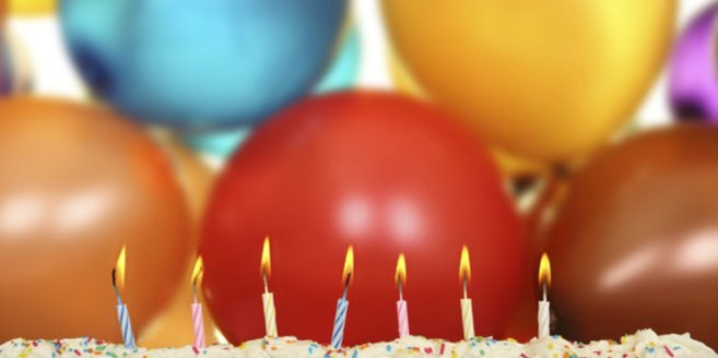 Kindergeburtstag Spiele: Luftballons und Kerzen