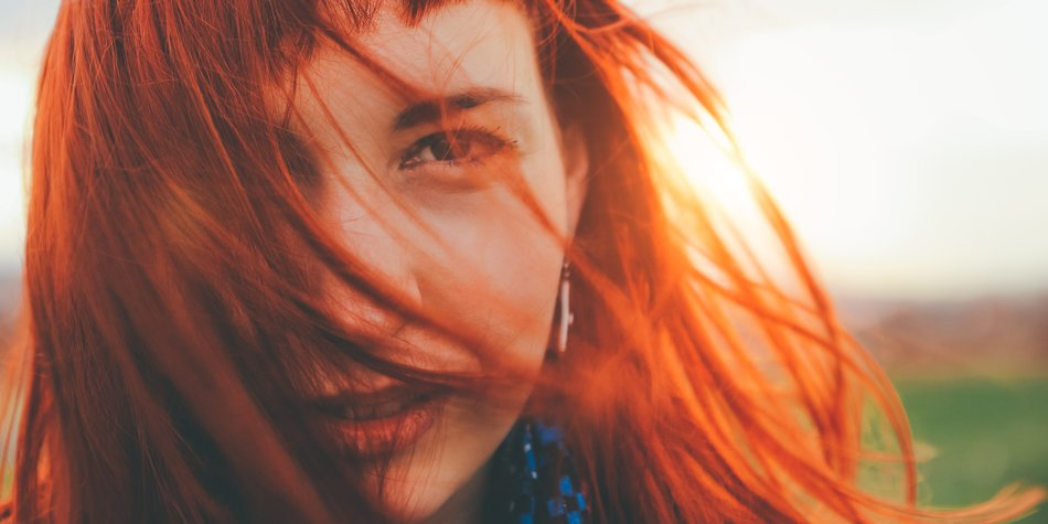 Dunkle Haare Rot Farben Ohne Blondieren Hilfe Dunkelbraune Haare
