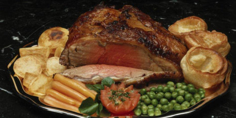 Roastbeef mit Kräuterkruste