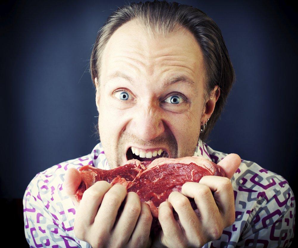 Lust auf Fleisch? Männer haben sie häufiger als Frau