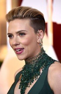 Scarlett Johansson: Undercut