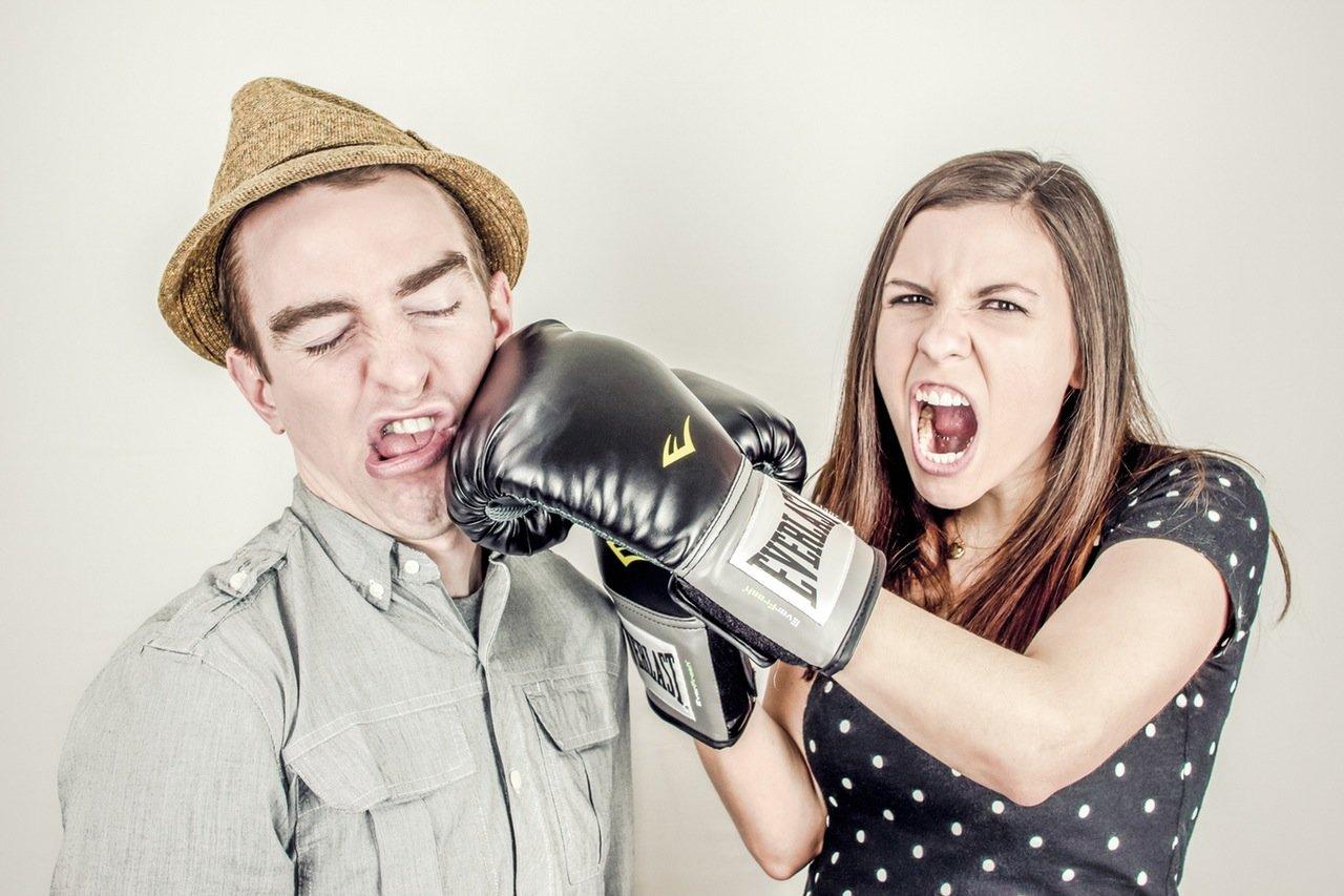 Paar Streit
