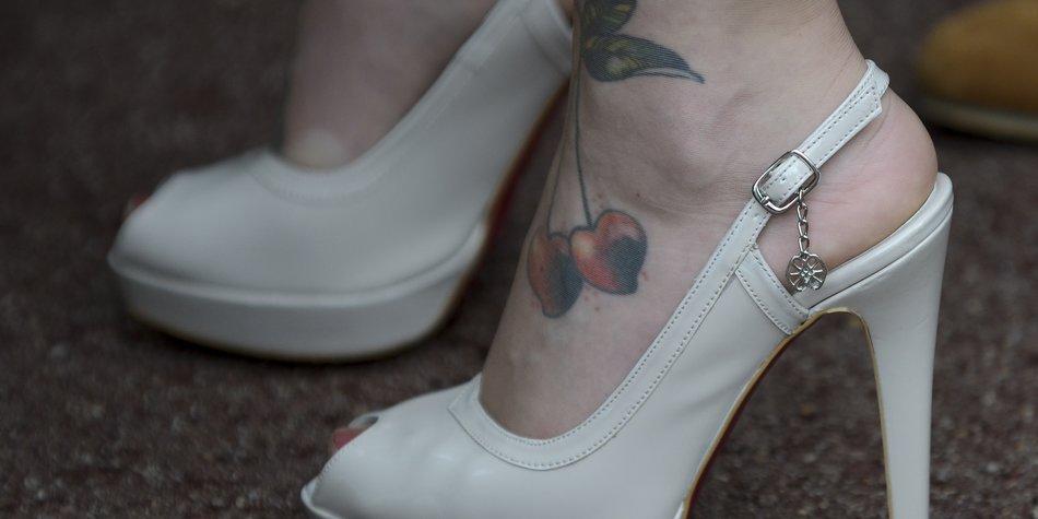 Tattoo am Fuß