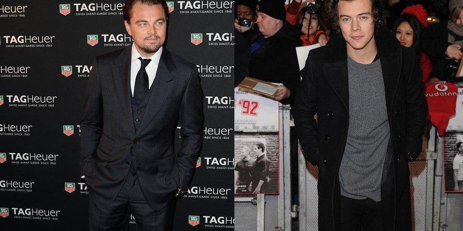 Harry Styles und Leonardo DiCaprio sind neue beste Freunde!