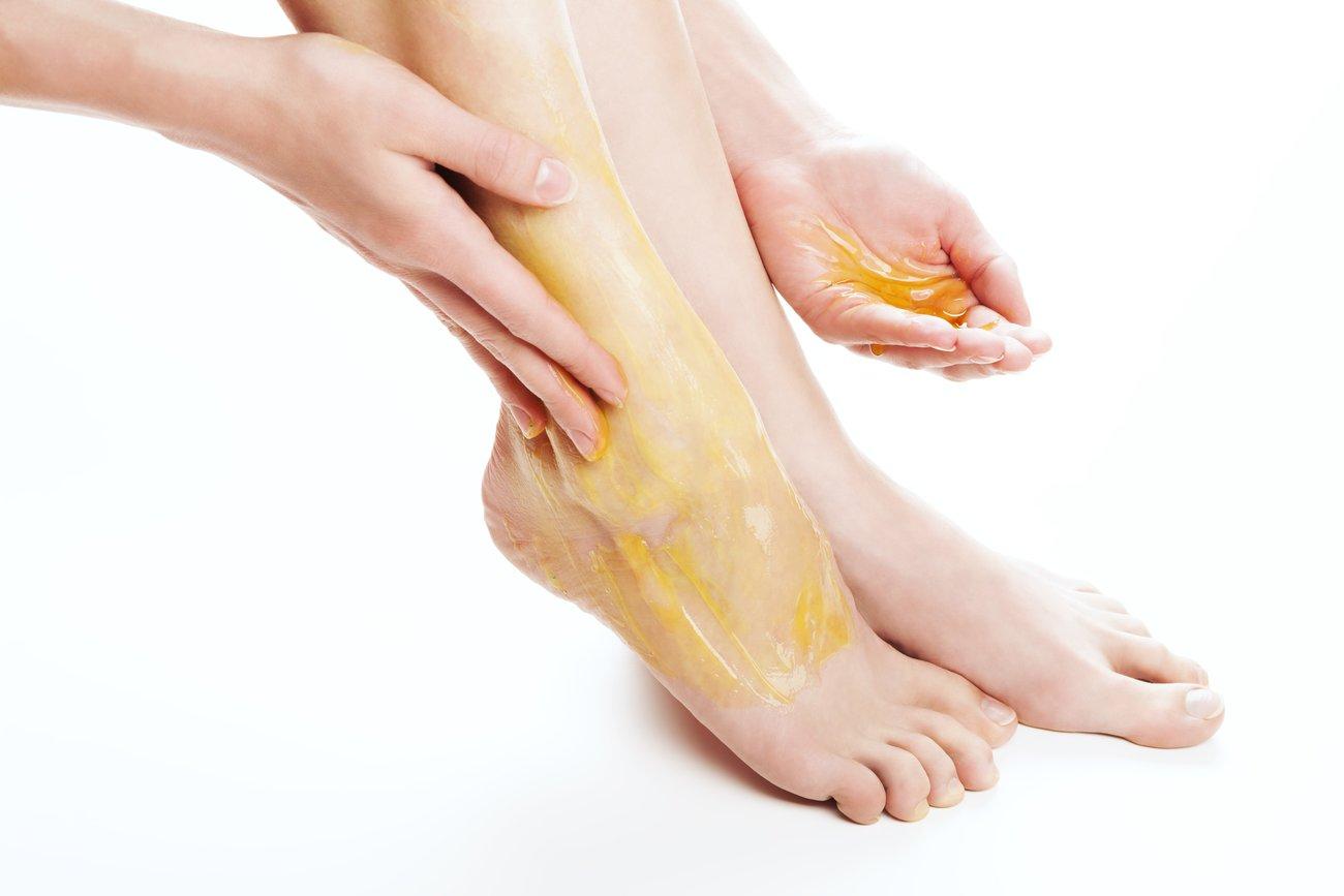 Honig gegen Fußpilz