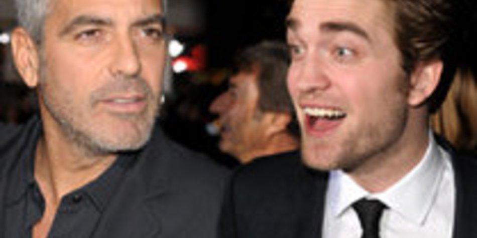Robert Pattinson unterstützt George Clooney