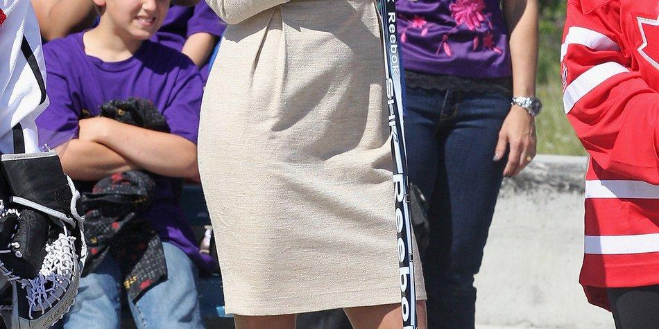 Kate Middleton: Ein Traum in creme und weiß