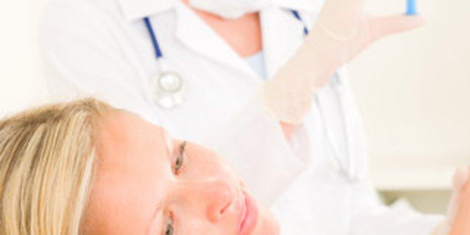 Schwangere zur Grippeimpfung