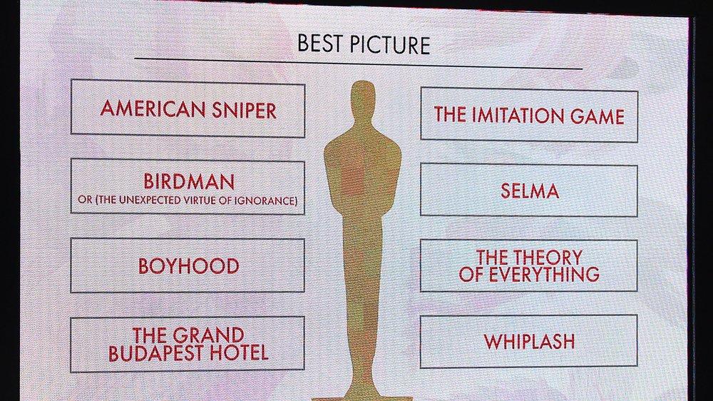 Oscars 2015: Die Nominierten stehen fest