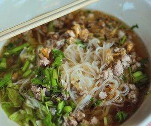 Thai Nudelsuppe