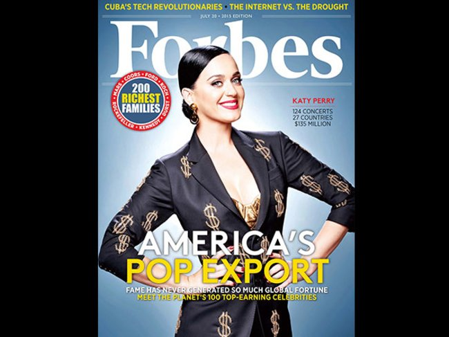 Forbes Katy Perry