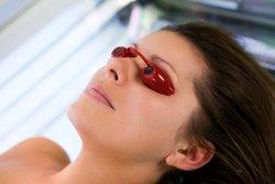 Schutzbrille fürs Solarium