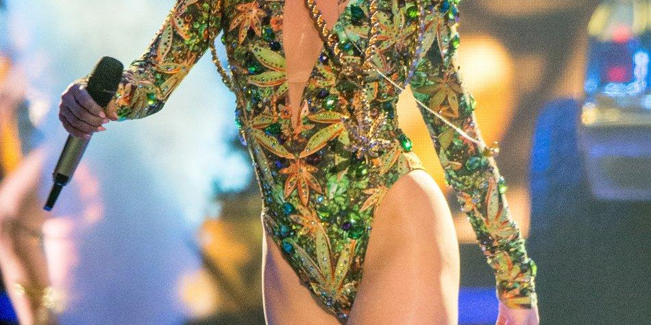 Miley Cyrus: Fühlt sie sich von Katy Perry beleidigt?