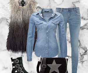 Outfit des Tages: Denim Style