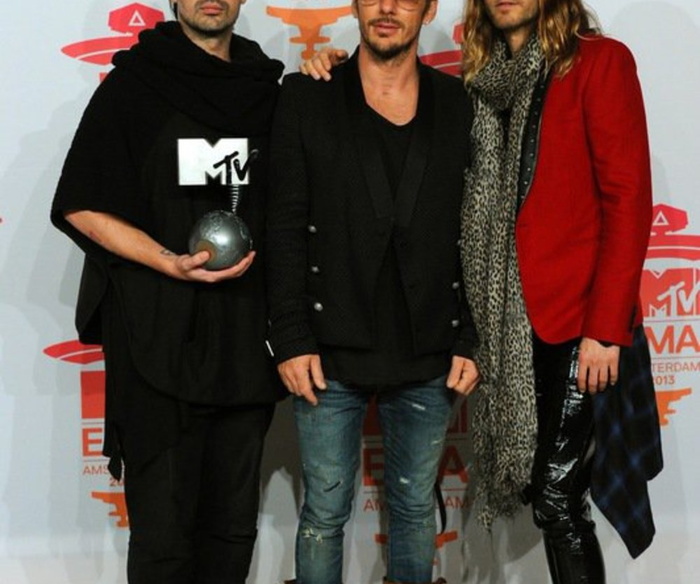 Thirty Seconds To Mars sind stolz