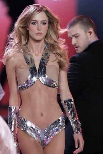 Justin Timberlake trat bei der Victoria's Secret Fashion Show auf