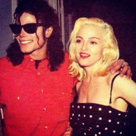 Madonna und Michael Jackson zusammen auf einer Party