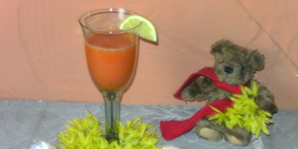 Karottensaft mit Ingwer