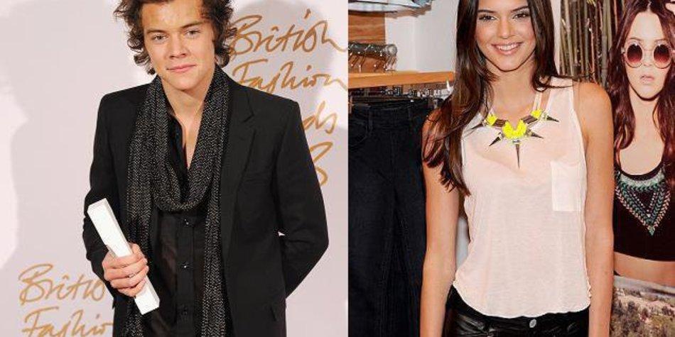 Harry Styles und Kendall Jenner daten fleißig