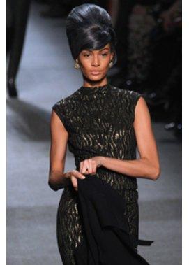 Frisurentrends bei Jean-Paul Gaultier auf der Fashion Week Paris.