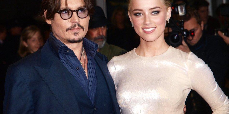 Johnny Depp und Amber Heard: Neue Liebe?