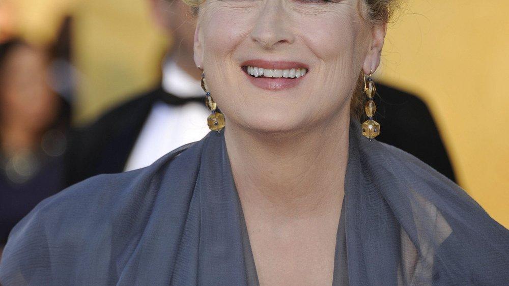 Meryl Streep mag ihre Falten gerne