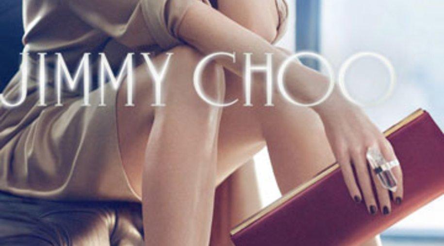 Nicole Kidman präsentiert sich in der Werbekampagne von Jimmy Choo als verruchte Femme Fatale.