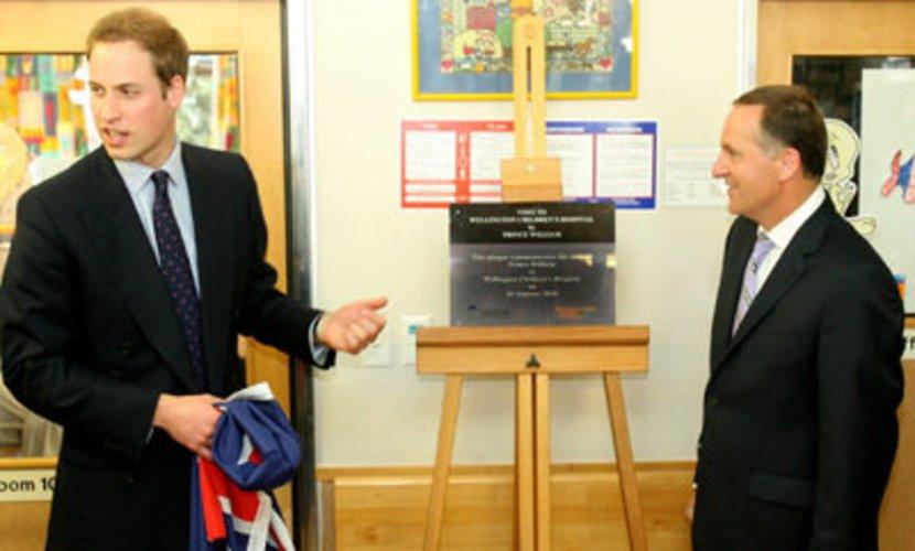 Prinz William wird auf dem englischen Thron sitzen