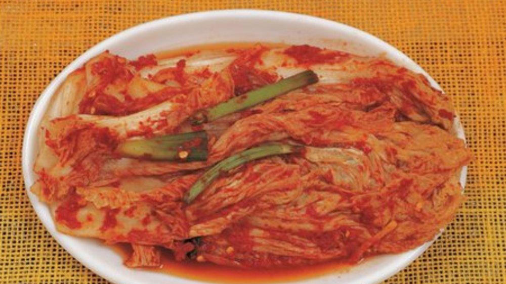 Kimchi Zubereitung