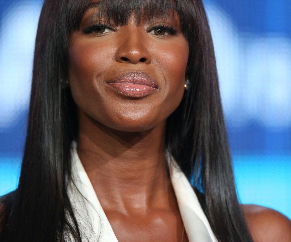 Naomi Campbell ist trocken!