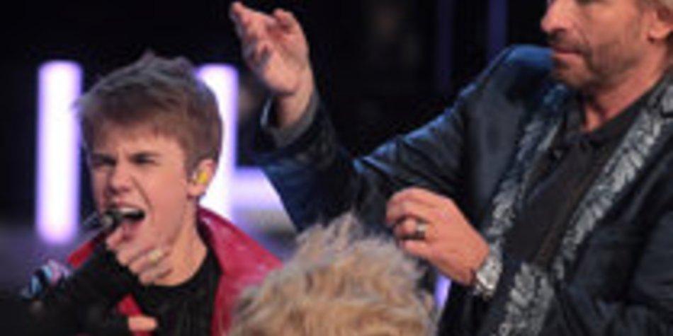 Justin Bieber: Eine Matte wie Thomas Gottschalk