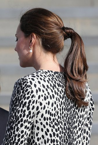 Kate Middleton zeigt ihren Ponytail