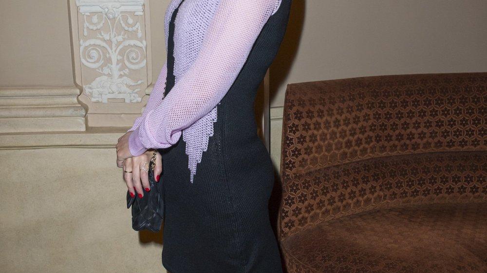 Kylie Minogue lächelt die Trennung weg