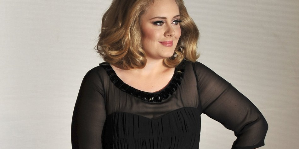 British singer-songwriter Adele poses on