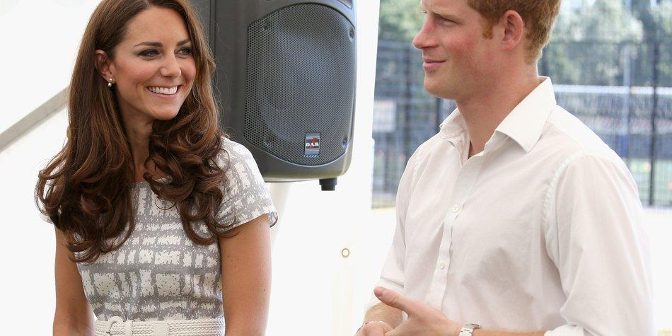 Kate Middleton berät Prinz Harry in Liebesdingen