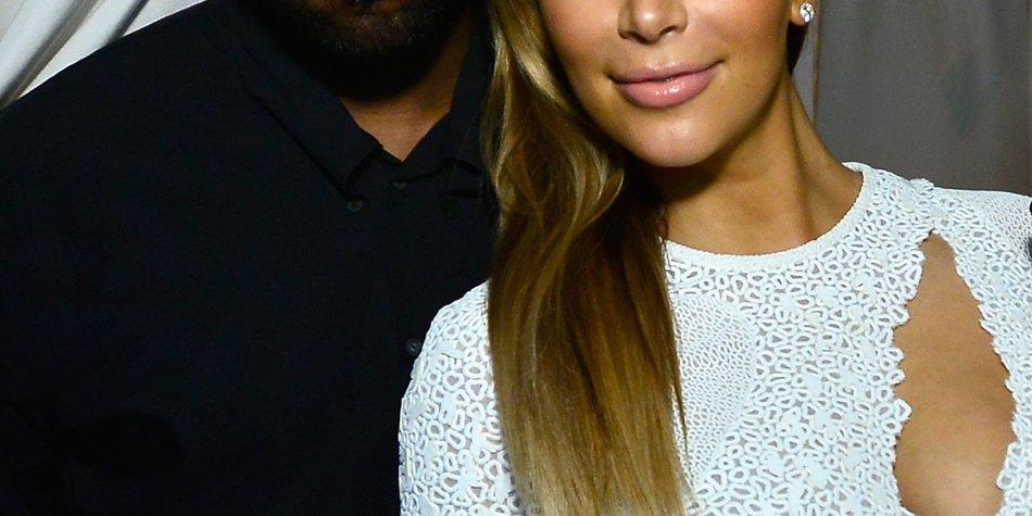 Kim Kardashian und Kanye West: Handyverbot bei der Hochzeit?