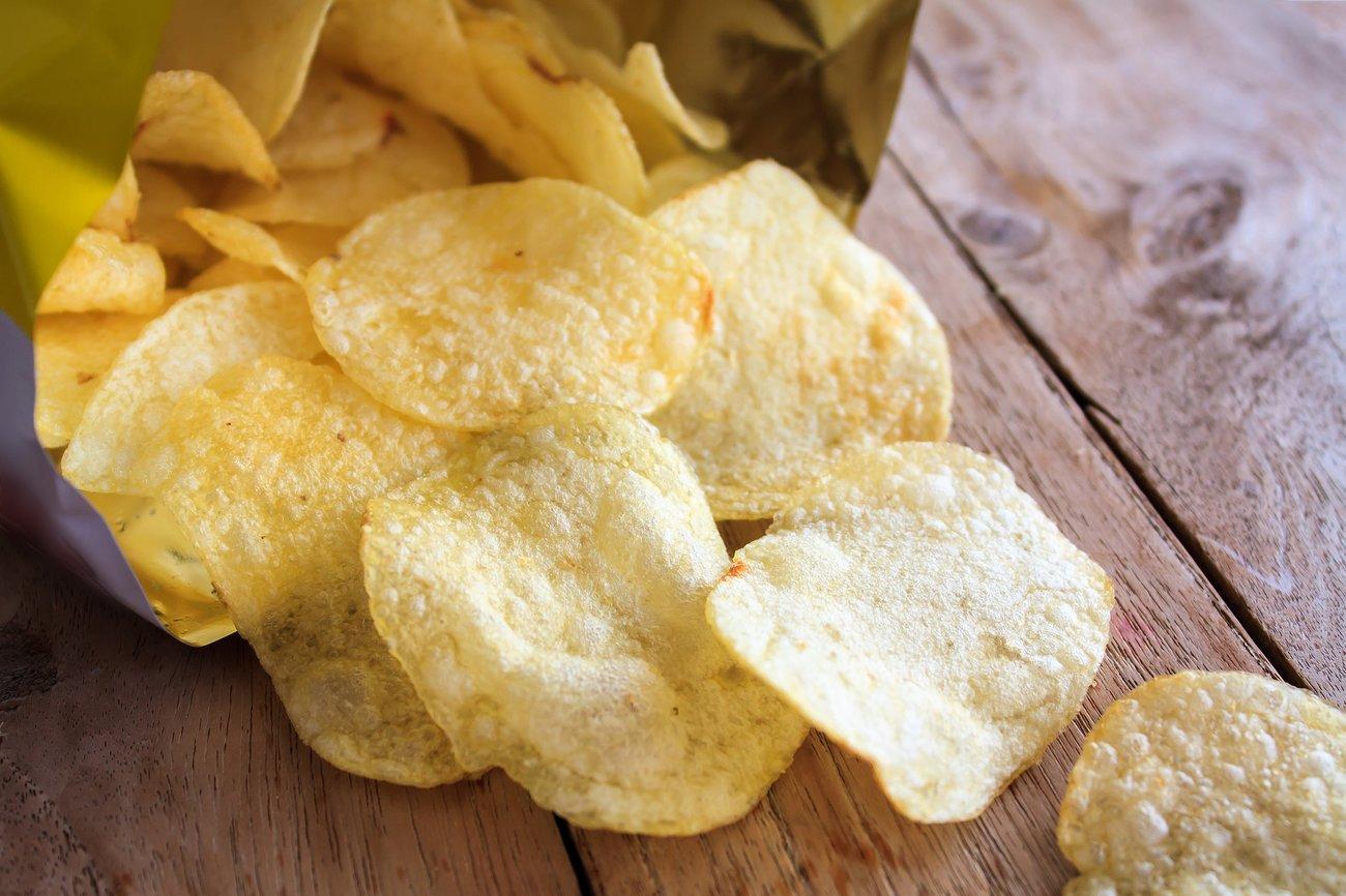 Glutamat gibt Kartoffelchips eine besonders unwiderstehliche Würze.
