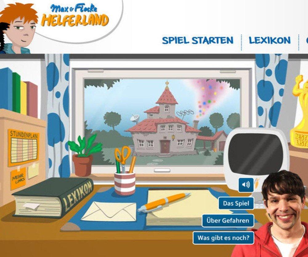 Kinderwebsite erklärt Umgang mit Gefahren