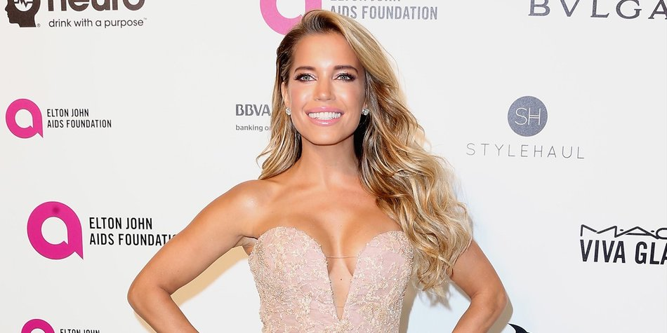 WEST HOLLYWOOD, CA - FEBRUARY 28: TV personality Sylvie Meis attends the 24th Annual Elton John AIDS Foundation's Oscar Viewing Party on February 28, 2016 in West Hollywood, California. (Photo by Frederick M. Brown/Getty Images)