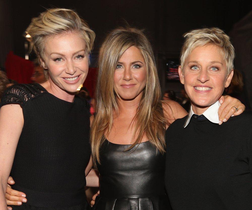 Jennifer Aniston bringt Ellen DeGeneres ins Schwärmen