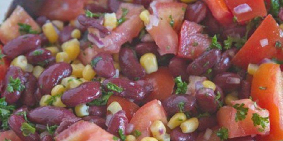 Kidneybohnen Salat