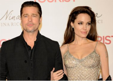 Angelina Jolie besuchte mit ihrer Familie Namibia
