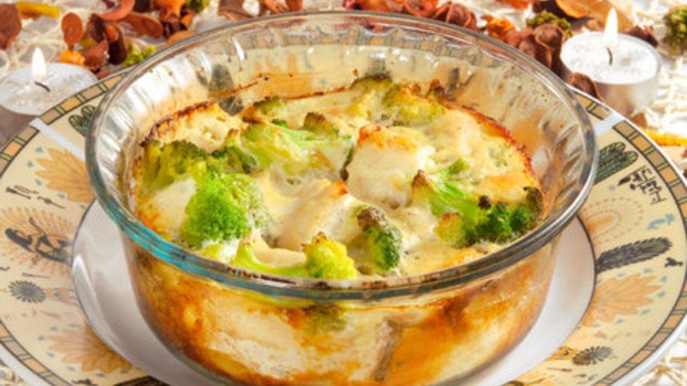 Brokkoli Auflauf mit Kartoffeln