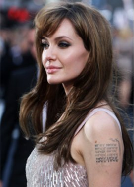 Regiedebütantin Angelina Jolie